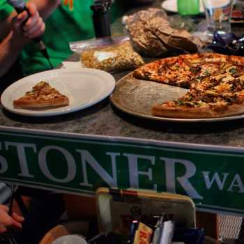 """Marijuana-infused pizza @ Mega Ill Pizzeria in #Vancouver"" by Cannabis Culture"