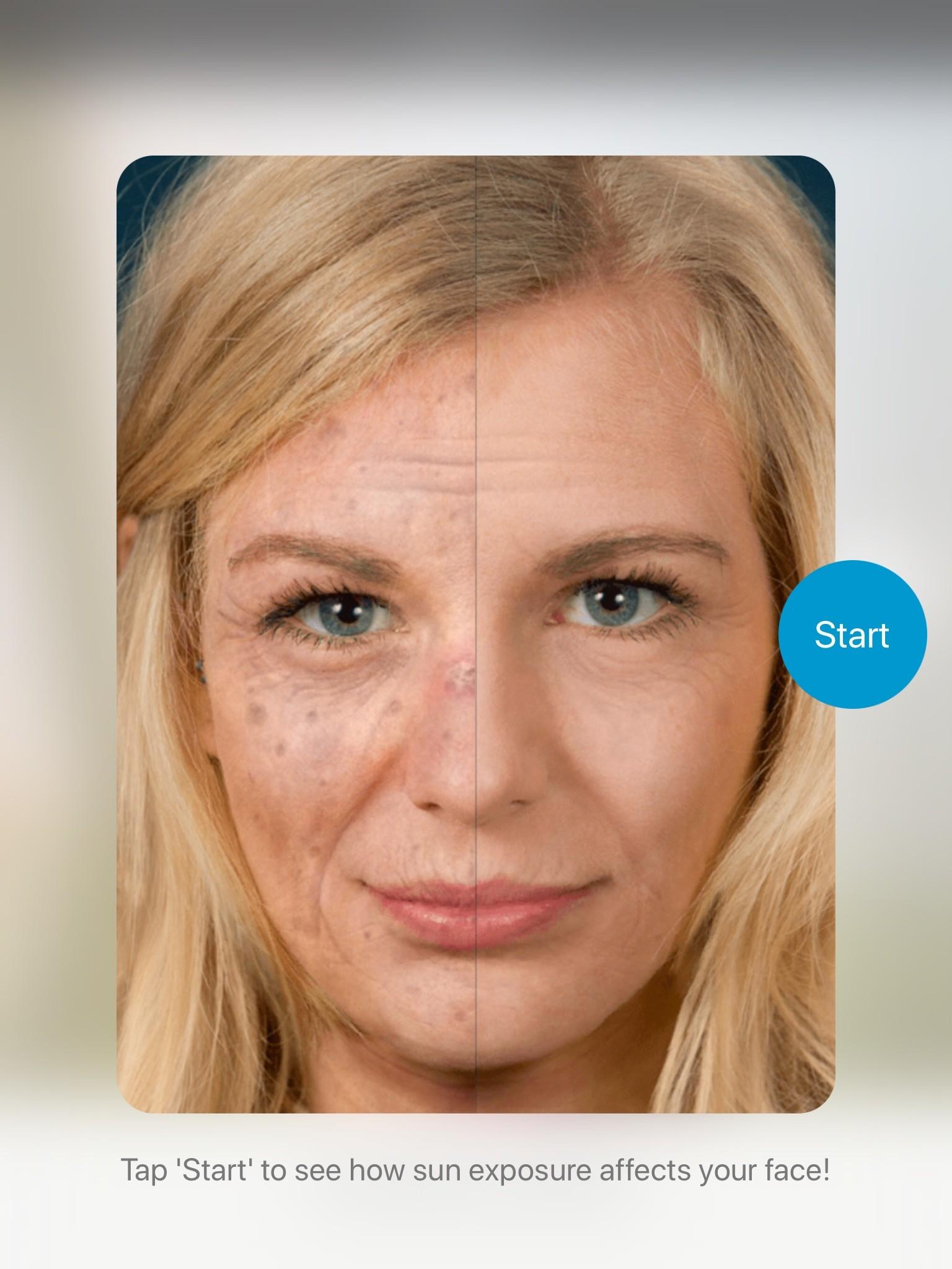 Startup Screen Dermatology APP