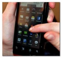 """""""Droid Apps Cell Phone"""" by Carissa Rogers is licensed under CC BY 2.0"""