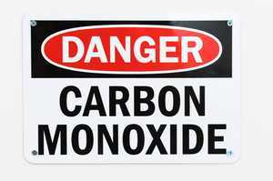 """Danger Carbon Monoxide"" by SmartSign is licensed under CC BY 2.0"