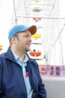 """Brad at Santa Monica Pier on Ferris Wheel"" by Brad Cerenzia is licensed under CC BY 2.0"