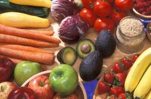 """""""Avocados with other fruits and vegetables"""" by U.S. Department of Agriculture is licensed under CC BY 2.0"""
