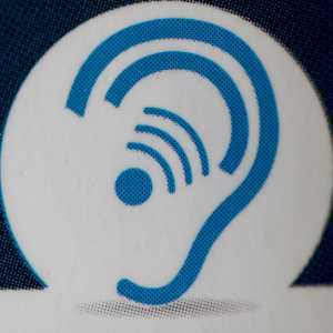 """Handicapped Hearing Impaired"" by Mark Morgan is licensed under CC BY 2.0"