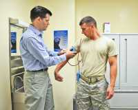 """Blood pressure check"" by Army Medicine is licensed under CC BY 2.0"