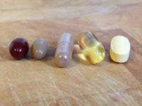"""Supplements - lycopene, ubiquinol, cherry, omega-3 & multivitamin"" by Health Gauge is licensed under CC BY 2.0"