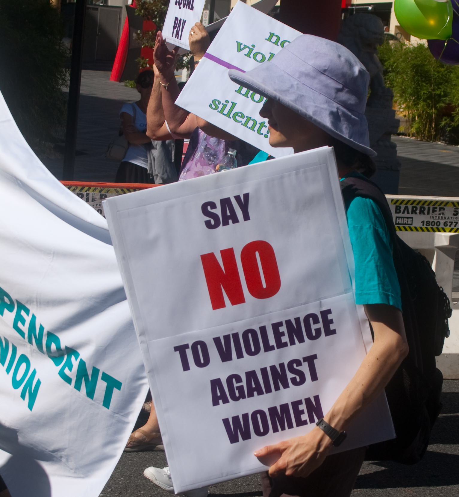 """""""IMGP6403_qtu-no-violence"""" by Rae Allen is licensed under CC BY 2.0"""
